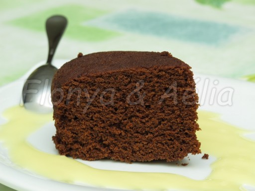 Moelleux au chocolat au micro onde